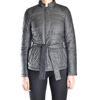 Etiqueta Negra Ezbc183025 Women's Grey Nylon Outerwear Jacket