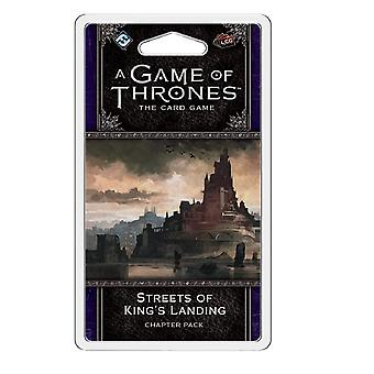 A Game of Thrones LCG Streets of King's Landing Chapter Pack Card Game