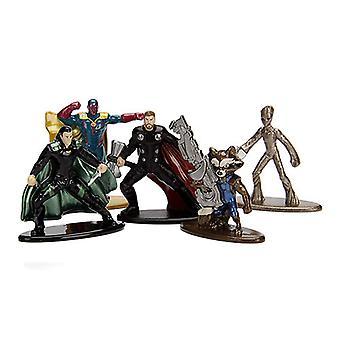 Avengers 3 infinity War Nano Metal FIGS 5 pk