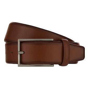 MONTI BORDEAUX Belt Men's Belt Leather Belt Cognac 8140