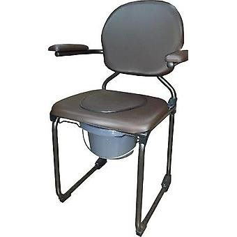 Anota Brown Wc Folding Chair Service (Well-being and relaxation , Orthopedics)