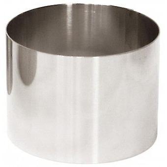 FMI Emplatadores Inox Circular o 9 X 6 Cm (cocina, Cookware, utensilios de cocina)