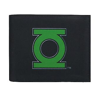Green Lantern Symbol on Black Bi-Fold Wallet