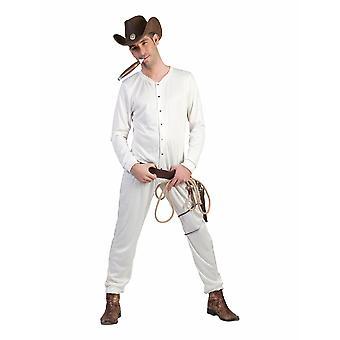 Cowboy underkläder mäns kostym Wild West morfar underkläder mäns kostym