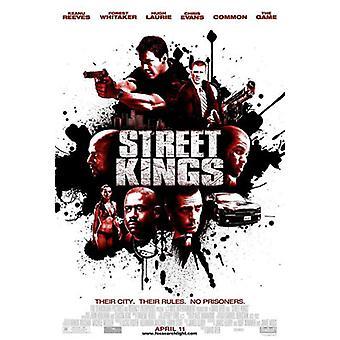 Street Kings (kaksipuolinen säännöllinen) alkuperäinen elokuva juliste