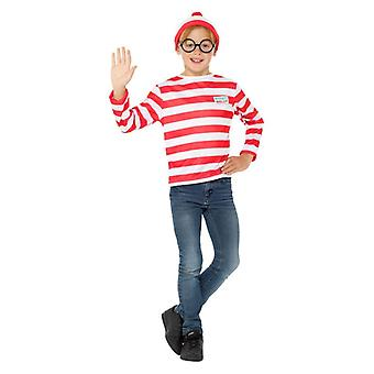 Boys Where's Wally? Instant Kit Fancy Dress