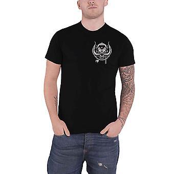 Motorhead T Shirt Warpig Pocket Band Logo new Official Mens Black