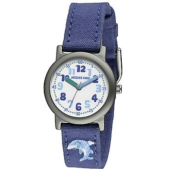 JACQUES FAREL Eco Kids Wristwatch Analog Quartz Girl Boy ORG 6666 Dolphin