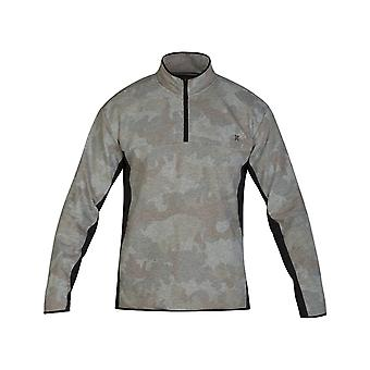 Hurley Dri-Fit Naturals Mid Layer Fleece in Camo Green