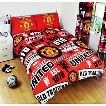 Ensemble de couette de Manchester United FC