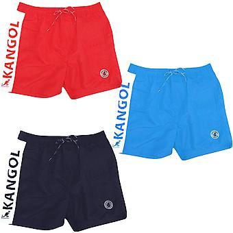 Kangol Mens Jeptson 2 Swimming Summer Beach Pool Water Holiday Swim Shorts
