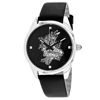 Jean Paul Gaultier Women's Navy Tatoo Black Dial Watch - 8502412
