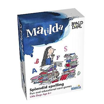 Matilda Splendid Spelling 3 card games Key stage 1 2 Age 6+