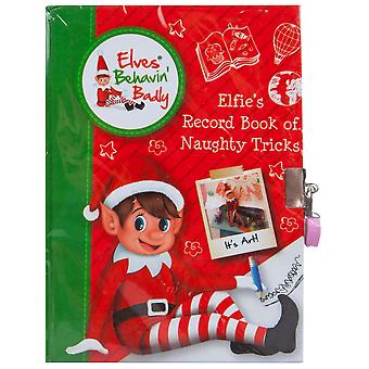 Christmas Shop Elves Bahvin Badly Naughty Tricks Diary