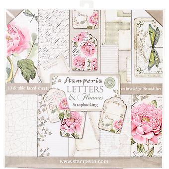 Stamperia Doppelseitige Papierpad 12