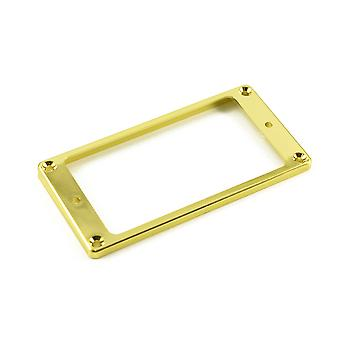 WD Music Humbucker Mounting Ring Low Gold (plastic)