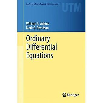 Ordinära Differential Ekvationer av William A Adkins