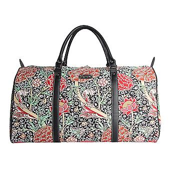 William morris - the cray big travel holdall by signare tapestry / bhold-cray