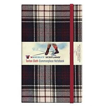 Dress Tartan Waverley Large NotebookJournal 21cm x 13 cm by Ron Grosset