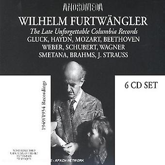 Wagner / Beethoven / Schubert - Furtwangler - Finest Colum [CD] USA import