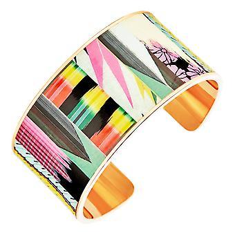 Bracelet Christian Lacroix Bijoux XF11005LD - Bracelet Rigide M�tal Dor� et Email Femme