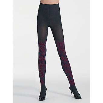 Pierre Mantoux Sara Floral Patterned Tights