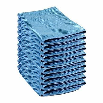 LINT-FREE Microfibre Cloths | 40cm X 40cm | Pack of 12 | Mcrofiber All Purpose Cleaning Towels