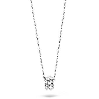 Blush 30649WZI necklace - White gold/ White gold ring pav of zirconium oxides 3/5 mm Women
