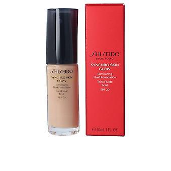 Shiseido Synchro Skin Glow Luminizing Fluid Foundation #r5 per le donne
