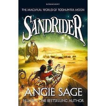 SandRider TodHunter kuu seikkailu Angie Sage
