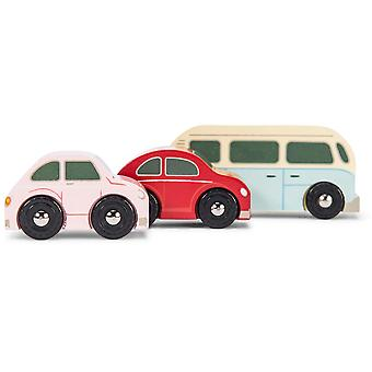 Le Toy Van Cars & Construction Retro Metro Car Set