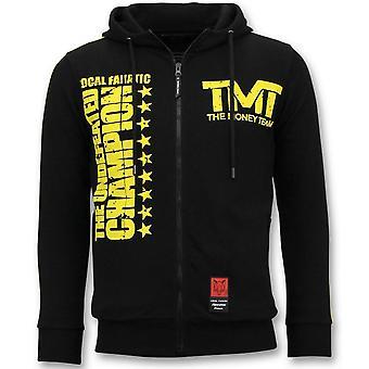 سترات التدريب - TMT فلويد مايويذر - أسود
