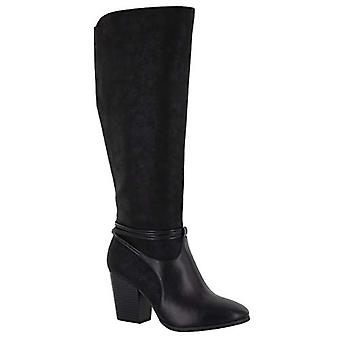 Easy Street Womens  Leather Closed Toe Knee High Fashion Boots