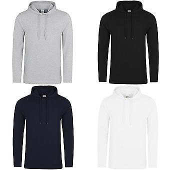 AWDis Just Hoods Mens Lightweight Plain Hooded Top