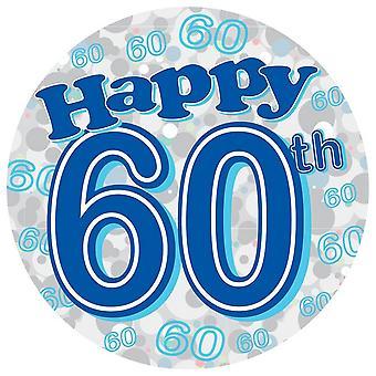 Kaleidoscope Party 60th Birthday Jumbo Badge
