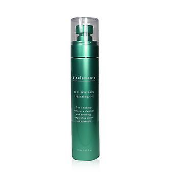 ביו-אלמנטס שמן ניקוי עור רגיש-עבור כל סוגי העור רגיש במיוחד-110ml/3.7 עוז