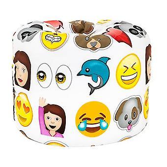 Emoji hymiöitä tulosta lapset & apos; valmis täytetty hauska bean laukku istuin lapset huonekalut