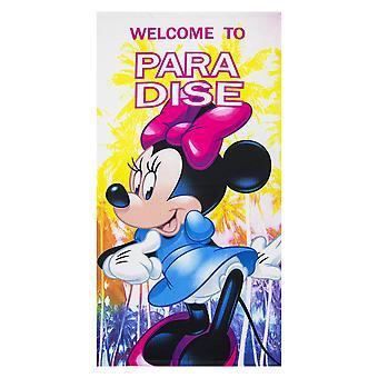 Disney minnie ręcznik mikrofibry poliester 70x140 cm