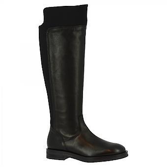 Leonardo Shoes Women-apos;s handmade genou bottes hautes fermeture latérale latérale