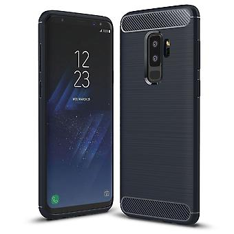 Shockproof tpu rugged carbon case samsung galaxy s9 plus case