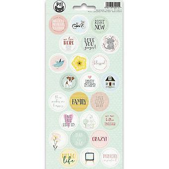 Piatek13 - Sticker sheet We are family 03 P13-FAM-13 10.5x23cm
