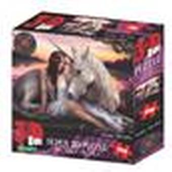Pure Heart Sunset Anne Stokes Super 3D Puzzles 150 Pieces