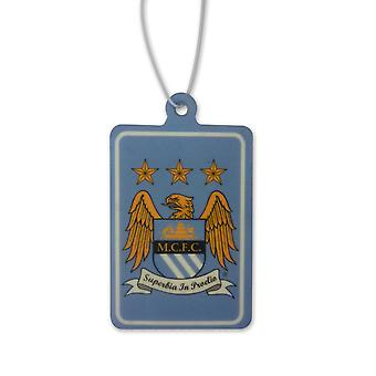 Manchester City FC Official Football Gift Crest Air Freshener