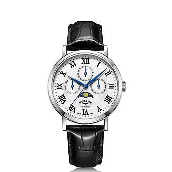 Rotary GS05325-01 Windsor Multifunction Wristwatch