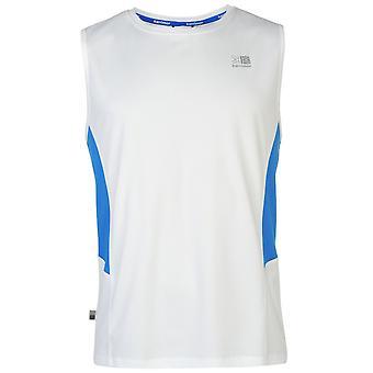 Karrimor Mens Sleeveless T Shirt ademende Mesh Vest bovenste Tee