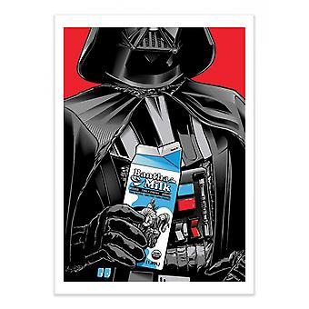 Art-Poster - Darth Vader - Joshua Budich