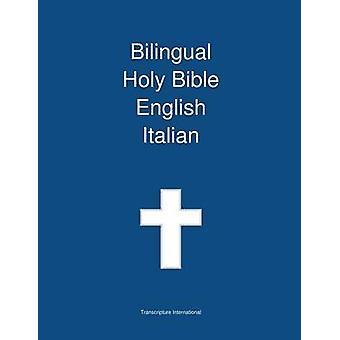 Bilingual Holy Bible English  Italian by Transcripture International