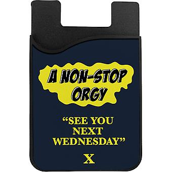 American Werewolf In London See You Next Wednesday Phone Card Holder