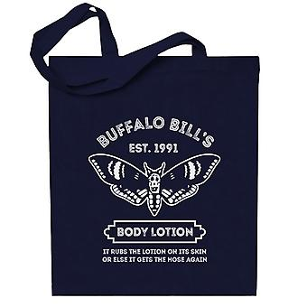 Silence Of The Lambs Buffalo Bills Body Lotion Totebag