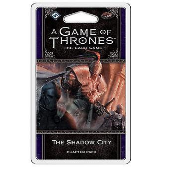 Een spel van tronen LCG de Shadow City hoofdstuk Pack card deck spel